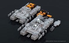 """Imperial Hovertank (Not-Quite-Perfect Grade)"" by wolf.leews-無: Pimped from Flickr"