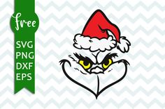 Free cutting files Grinch face svg file for crafters Grinch Svg Free, Grinch Face Svg, Grinch Cricut, Grinch Christmas Decorations, Merry Christmas, Grinch Ornaments, Christmas Vinyl, Xmas, Disney Tattoos