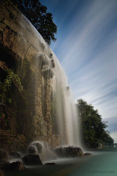 Waterfall in Nice - France