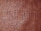 "Copper Faux Alligator Leather Upholstery 3.4 sqft 18""x27"" - 18x27, Alligator, COPPER, Faux, Leather, sqft, Upholstery"