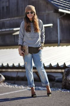 Love Boyfriend jeans, just don't think I could pull them off :-/