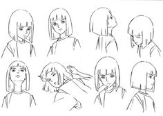 spirited away haku character designs