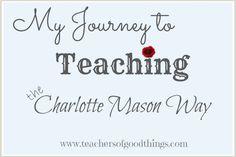#journey to teaching the #charlotte mason way