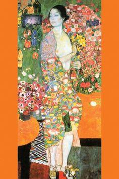 The Dancer, by Gustav Klimt