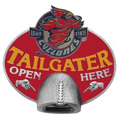 #Tailgating Iowa State Cyclones NCAA Tailgater Bottle Opener Hitch Cover