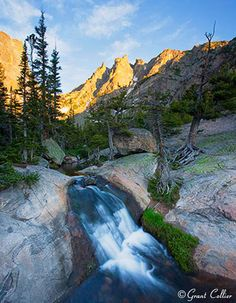 Flattop Mountain Waterfall-photo by Grant Collier