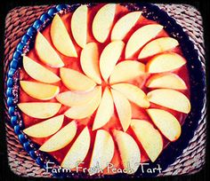 Raw Peach Tart via Conscious Cleanse blog