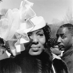 I'm feeling that pic.  Love that church hat! I love a sister in a sharp church hat...
