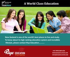 A World Class Education !!! Study in New Zealand !! Visit our website for more details