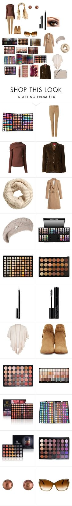 """Untitled #196"" by hani-harel ❤ liked on Polyvore featuring beauty, Polo Ralph Lauren, Rick Owens, Kenzo, H&M, Sephora Collection, BHCosmetics, NARS Cosmetics, Giorgio Armani and Chesca"