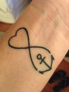 I'm still obsessed with this anchor tattoo!! Hebrew 6:19