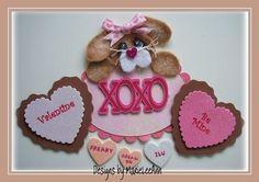 ELITE4U Marieleean Valentine Tear Bear Bunny Paper Piecing Scrapbooking Cards Ha   eBay