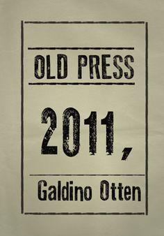 Old Press free font