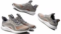 794d4563a Details about Men s ADIDAS ORIGINALS ALPHABOUNCE Grey Heather Solid Grey Utility  Black BB9049
