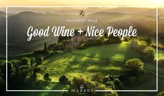 "Fonterutoli. Nice People + Good Wine - ""Castello di Fonterutoli, the heart and soul of the Marchesi Mazzei story"". @marchesimazzei  #marchesimazzei #fonterutoli  #wine #tuscany #winestyle #winetasting #winelovers"