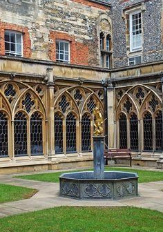 Inside Windsor's Upper Ward, Windsor Castle