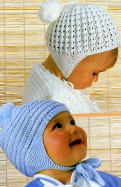 ON SALE  Baby / Toddler / Child's   4ply Helmets / by avintagescot