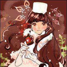 Cookie Run. Manga Girl, Anime Girls, Francis Picabia, Cookie Run, Cocoa Cookies, Aesthetic Art, Cute Art, Character Art, Character Inspiration