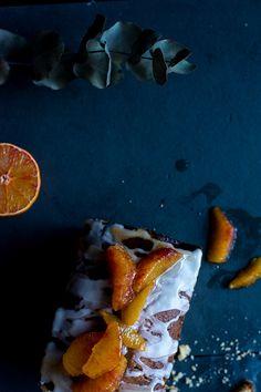 semolina citrus cake - kitchen hoopla