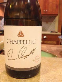 Chappellet Chardonnay 2010.