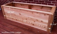how to build nice planter boxes economically, container gardening, gardening, how to, raised garden Cedar Planter Box, Wood Planter Box, Window Planter Boxes, Raised Planter, Wooden Planters, Diy Planters, Raised Garden Beds, Planter Box Plans, Flower Planters