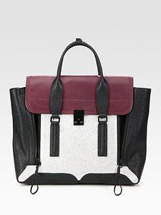 Handbag Heaven!    3.1 Phillip Lim Pashli Colorblock Satchel