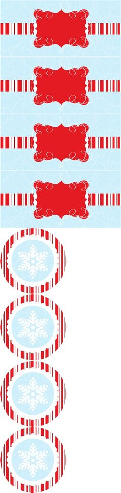 The Celebration Shoppe Mod Candy Cane Gift Tag & Recipe Cards | Scribd
