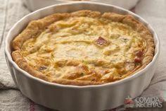 Receita de Quiche de frango em receitas de tortas salgadas, veja essa e outras receitas aqui!