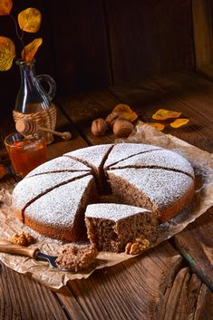 Dessert Cake Recipes, Low Carb Desserts, Dairy Free Recipes, Yummy Cakes, Nom Nom, Food And Drink, Sweets, Snacks, Baking