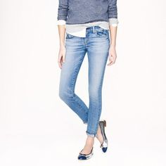 Selvedge Toothpick Jeans by J. Crew #Shopping #Denim