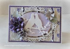 Love wedding Handmade card by YoviMessingAround