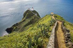 Santa Maria island in The Azores