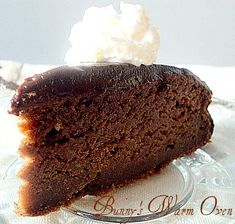 Nigella Lawson's Chocolate Banana Cake.  Absolutely wonderful 8 inch cake with big flavor!