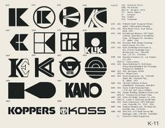 K-11 / World of Logotypes