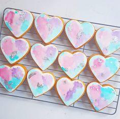 • watercolor cookies •
