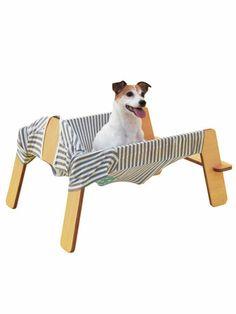 【ELLE DECOR】トラフ建築設計事務所の犬用ハンモック|エル・オンライン
