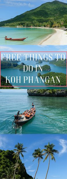 Island hopping can be pricey, check out my free guide on things to do in Koh Phangan Thailand
