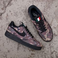 half off 10a58 02bb0 Nike Air Force 1 07 - AV7012-200 •• Italy Country Camo i canvas
