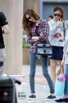 140903 yoona's airport fashion