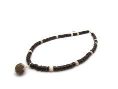 Tagua noot sieraden bruine Lotus Met de hand uitgesneden tot kunstwerkjes