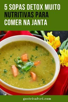 7 sopas que ajudam a emagrecer Cooking Recipes, Healthy Recipes, Plant Based Diet, Eating Well, Food Hacks, Good Food, Low Carb, Pasta, Ethnic Recipes
