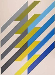 ANTON STANKOWSKI (1906-1998)                                Shrag System, 1988  88 9/16 in x 64 15/16in, Acrylic on Canvas
