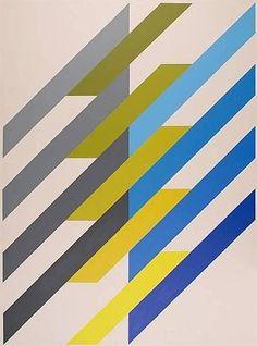 ANTON STANKOWSKI (1906-1998)                                Shrag System, 1988  88 9/16 in x 64 15/16in, Acrylic on Canvas