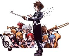 This orchestra must have a lot of emotional pieces. Cause KINGDOM HEARTS