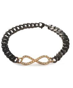 Infinity Crystal Bracelet