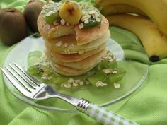 Pancakes light avena e albumi