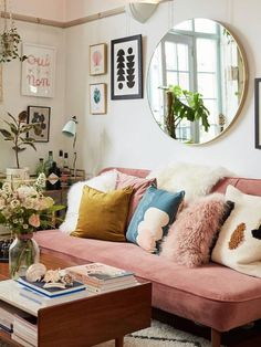 Home Interior Design .Home Interior Design Boho Living Room, Home And Living, Living Room Decor, Cute Living Room, Retro Living Rooms, Barn Living, Bohemian Living, Cozy Living Rooms, Room Decor Bedroom