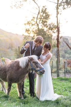 Rustic Love and Pretty Ponies.  Inspiration for your Big Day www.paperandlace.com