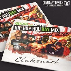 Check out our fresh artwork for CLAKSAARB's classic hiphop mix
