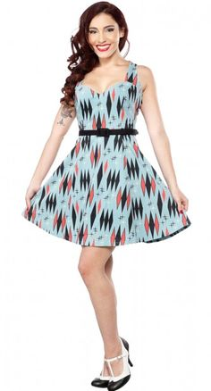 An absolute must-have, the Twinkletoes Dress will have you looking like a pin up bombshell!